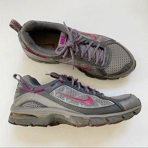 Nike Gray Trail Ridge Running Athletic Shoes 10